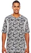 Team 365 Mens S/S Athletic V-Neck Camo Jersey