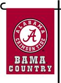 College Alabama 2-Sided Country Garden Flag