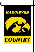 College Iowa Hawkeyes 2-Sided Country Garden Flag