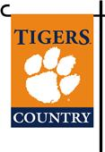 College Clemson Tigers 2-Sided Country Garden Flag