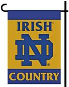 College Notre Dame 2-Sided Country Garden Flag