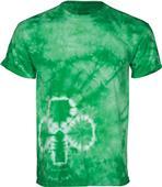 Dyenomite Novelty Shamrock Tie Dye T-Shirt