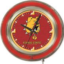 "Holland Ferris State Univ. 15"" Neon Logo Clock"
