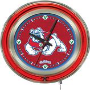 "Holland Fresno State Univ. 15"" Neon Logo Clock"