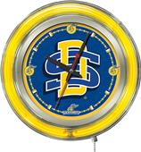 "Holland South Dakota State Univ. 15"" Neon Clock"