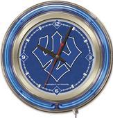 "Holland Washington & Lee Univ 15"" Neon Logo Clock"