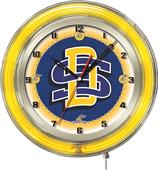 "Holland South Dakota State Univ. 19"" Neon Clock"