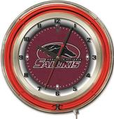 "Holland Southern Illinois Univ 19"" Neon Logo Clock"
