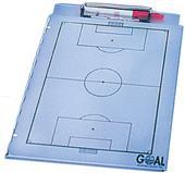 Aluminum Portfolio Soccer Clipboards