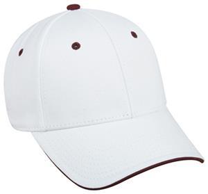 WHITE/MAROON