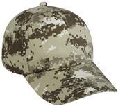 OC Sports Digital Camo Adjustable Wash Cotton Caps