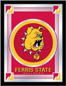 Holland Ferris State University Logo Mirror