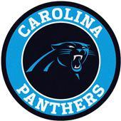 Fan Mats NFL Carolina Panthers Roundel Mat