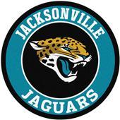 Fan Mats NFL Jacksonville Jaguars Roundel Mat