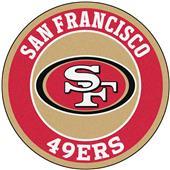 Fan Mats NFL San Francisco 49ers Roundel Mat