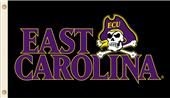 College East Carolina Pirates 3' x 5' Flag