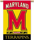 "College Maryland Terrapins 2-Sided 28""x40"" Banner"