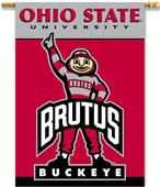 "College Ohio State Buckeyes 2-Sided 28""x40"" Banner"