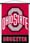 College Ohio State Buckeyes Indoor Banner Scroll