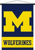 College Michigan Wolverines Indoor Banner Scroll
