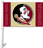 "College Florida State 2-Sided 11"" x 18"" Car Flag"