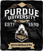 "Northwest NCAA Purdue Univ. 50""x60"" Raschel Throw"
