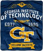"Northwest NCAA Georgia Tech 50""x60"" Raschel Throw"