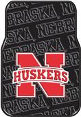 Northwest NCAA Nebraska Car Floor Mats (set of 2)