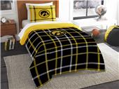 Northwest NCAA Iowa Twin Comforter and Sham