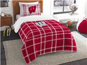 Northwest NCAA Wisconsin Twin Comforter and Sham