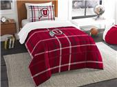 Northwest NCAA Utah Twin Comforter and Sham