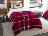 Northwest NCAA Arkansas Twin Comforter and Sham
