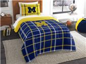 Northwest NCAA Michigan Twin Comforter and Sham