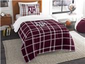 Northwest NCAA Texas A&M Twin Comforter and Sham