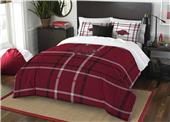 Northwest NCAA Arkansas Full Comforter and 2 Shams