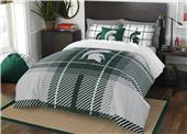 Northwest NCAA Mich State Full Comforter & 2 Shams