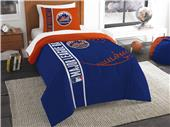 Northwest MLB New York Mets Twin Comforter & Sham
