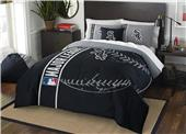 Northwest MLB White Sox Full Comforter & 2 Shams