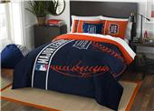 Northwest MLB Tigers Full Comforter & 2 Shams