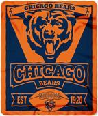 Northwest NFL Bears 50x60 Marque Fleece