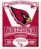 Northwest NFL Cardinals 50x60 Marque Fleece