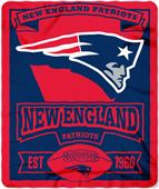 Northwest NFL Patriots 50x60 Marque Fleece