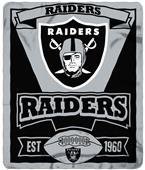 Northwest NFL Raiders 50x60 Marque Fleece