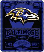 Northwest NFL Ravens 50x60 Marque Fleece