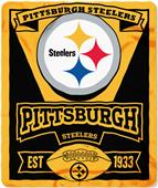 Northwest NFL Steelers 50x60 Marque Fleece