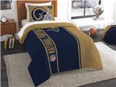 Northwest NFL Rams Twin Comforter & Sham