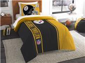 Northwest NFL Steelers Twin Comforter & Sham