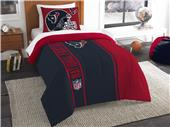 Northwest NFL Texans Twin Comforter & Sham