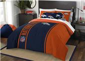 Northwest NFL Broncos Full Comforter & 2 Shams