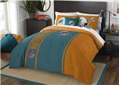 Northwest NFL Dolphins Full Comforter & 2 Shams